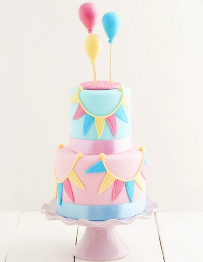 Baby Shower Balloon Cake