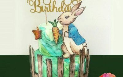 Peter Rabbit Cake Topper