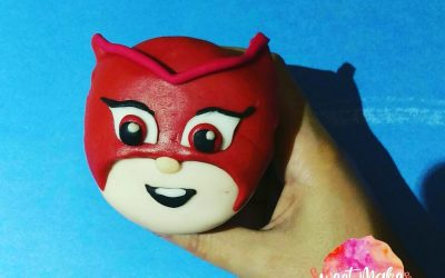 PJ Masks Cupcakes, Cake Toppers