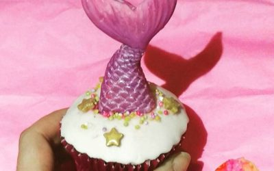 Mermaid Tail Cupcakes